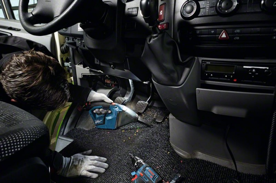 Bosch gas 12v aspiratore 06019e3000 senza batterie 06019e3000 - dettaglio 4