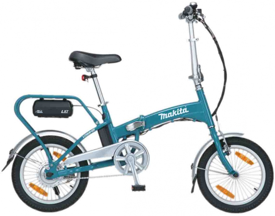Bicicletta a pedalata assistita Makita BBY180