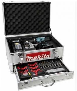 Vista trapano avvitatore con percussione Makita DHP453RYEX ( Ex BHP453RHEX) 18V 1,5Ah