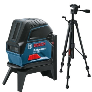 Livella laser combinata bosch 06159940fv gcl 2-15 + rm1 + bt 150 - dettaglio 1