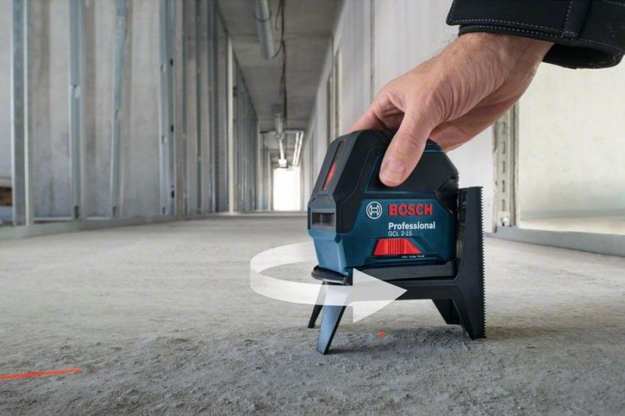 Livella laser combinata bosch 06159940fv gcl 2-15 + rm1 + bt 150 - dettaglio 5