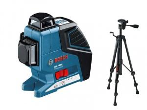 Livella laser bosch 0601063306 gll 3-80 p + bs 150 - dettaglio 1
