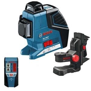 Livella laser bosch 060106330a gll 3-80 p + bm 1 + lr 2 - dettaglio 1