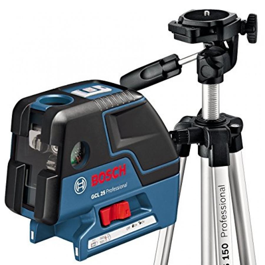 Livella laser combinata bosch 0601066b01 gcl 25 + bs 150 - dettaglio 1