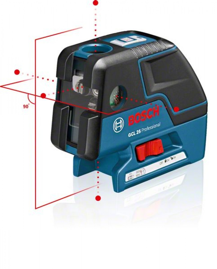 Livella laser combinata bosch 0601066b01 gcl 25 + bs 150 - dettaglio 2