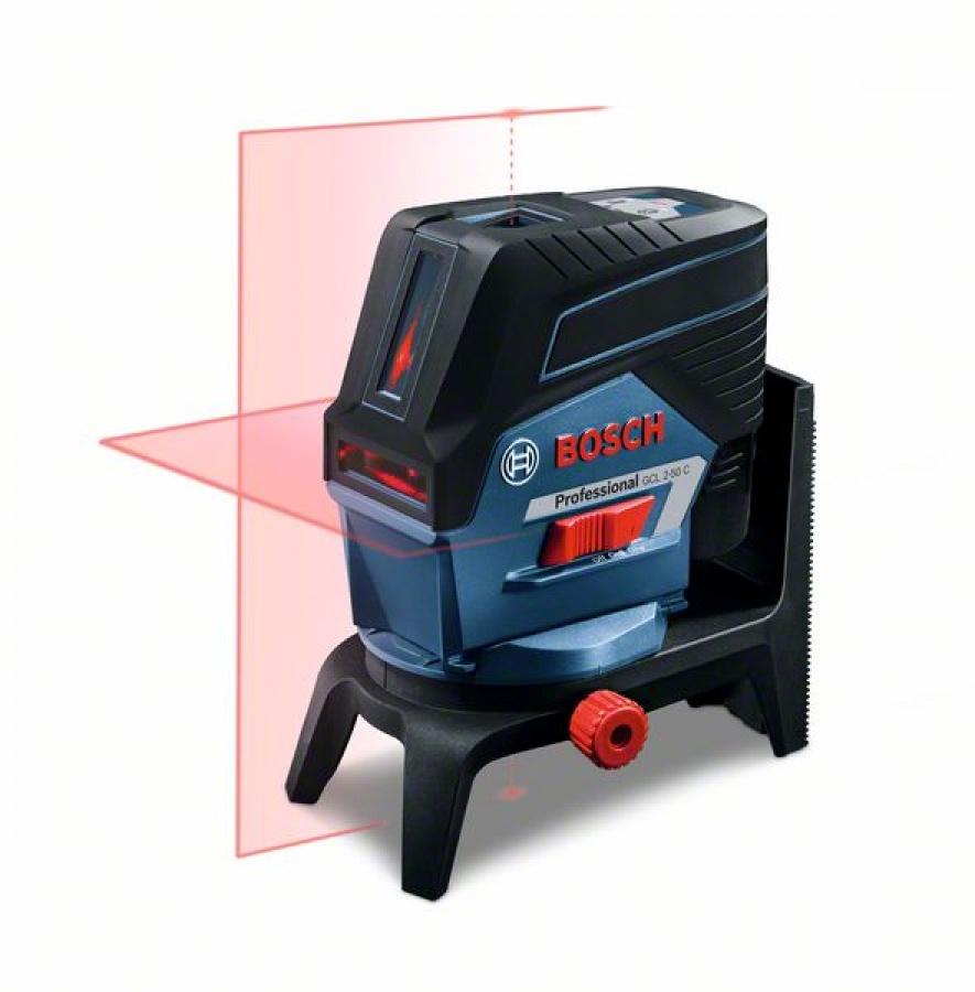 Livella laser bosch 0601066g02 gcl 2-50 c + rm 2 + bt 150g - dettaglio 4