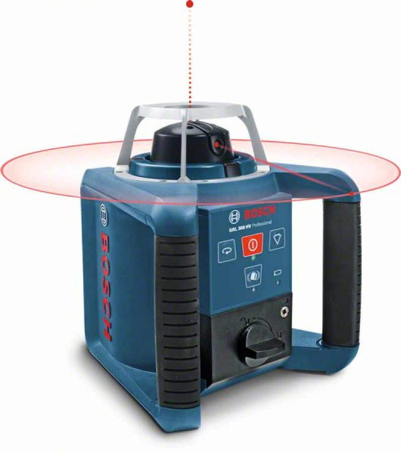 Livella laser rotante bosch 061599403y grl 300 hv + bt 300 hd + gr 240 - dettaglio 2