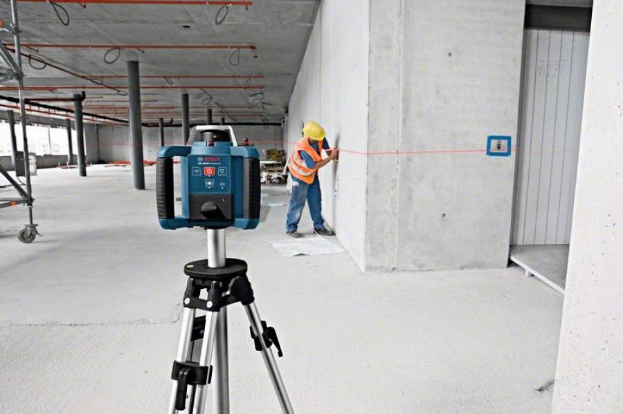 Livella laser rotante bosch 061599403y grl 300 hv + bt 300 hd + gr 240 - dettaglio 3