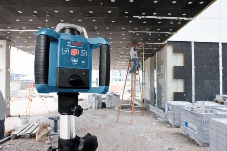 Livella laser rotante bosch 061599403y grl 300 hv + bt 300 hd + gr 240 - dettaglio 5