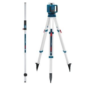 Livella laser rotante bosch 061599403u grl 400 h + bt 170 hd + gr 240 - dettaglio 1