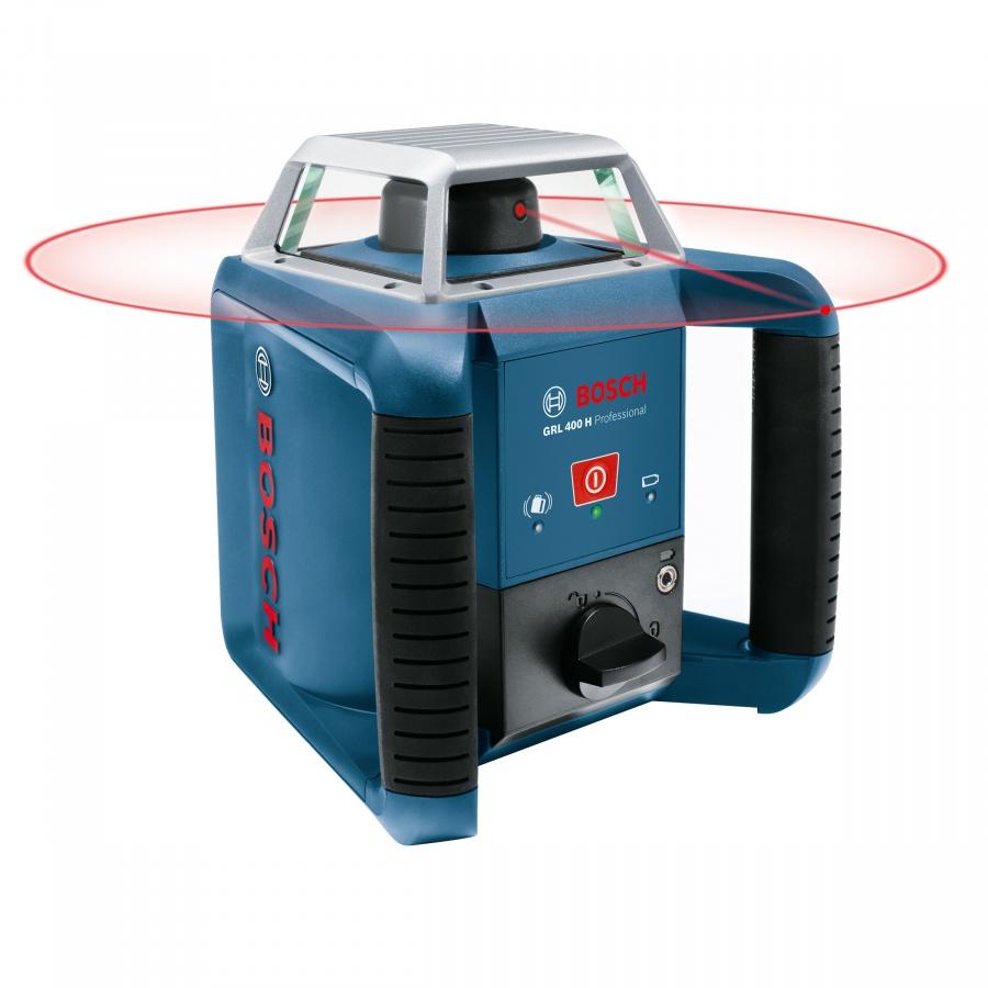 Livella laser rotante bosch 061599403u grl 400 h + bt 170 hd + gr 240 - dettaglio 2