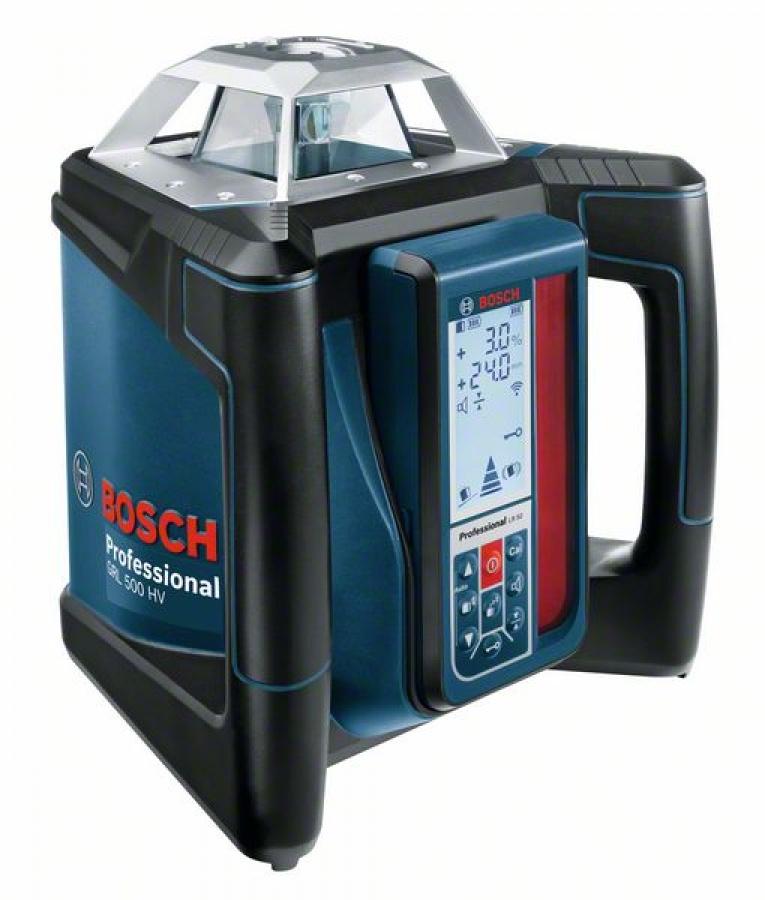Livella laser rotante bosch 0601061b00 grl 500 hv + lr 50 - dettaglio 1