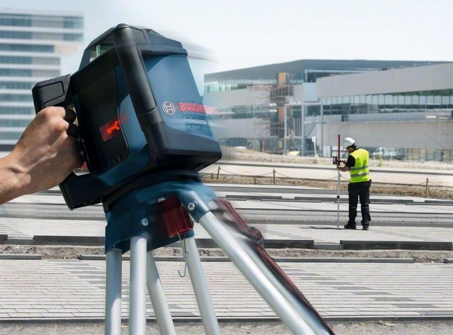 Livella laser rotante bosch 0601061b00 grl 500 hv + lr 50 - dettaglio 3