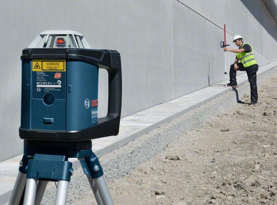 Livella laser rotante bosch 0601061b00 grl 500 hv + lr 50 - dettaglio 4