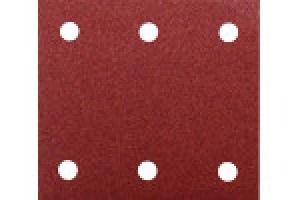 Disegno Carta abrasiva per levigatrice 114x102 mm - 10pz