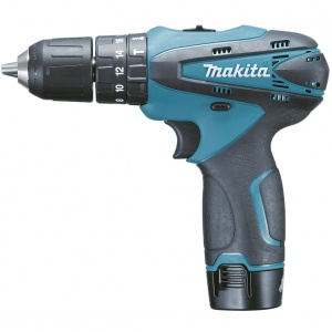 Trapano Avvitatore c/percuss. Makita HP330DWE 10,8V 1,3 Ah