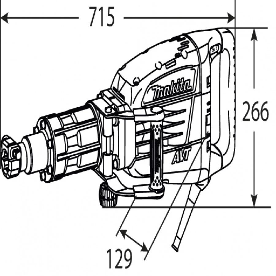 Disegno demolitore-1510w-25j-makita-hm1317c-kg-17-large-jpg