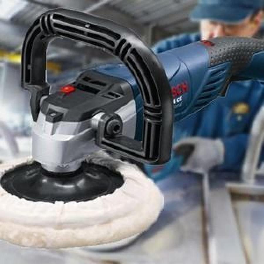 Bosch GPO 14 CE Lucidatrice - Utilizzo