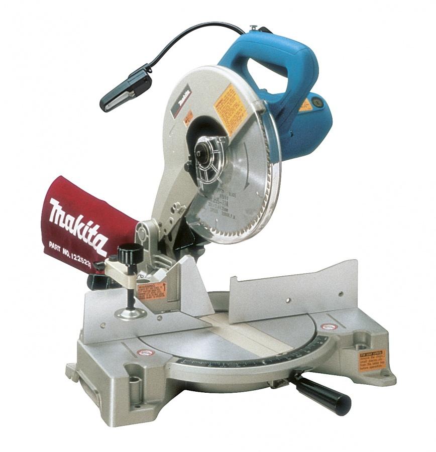 Sega da banco radiale con illuminazione 1650w Makita LS1040F mm. 260