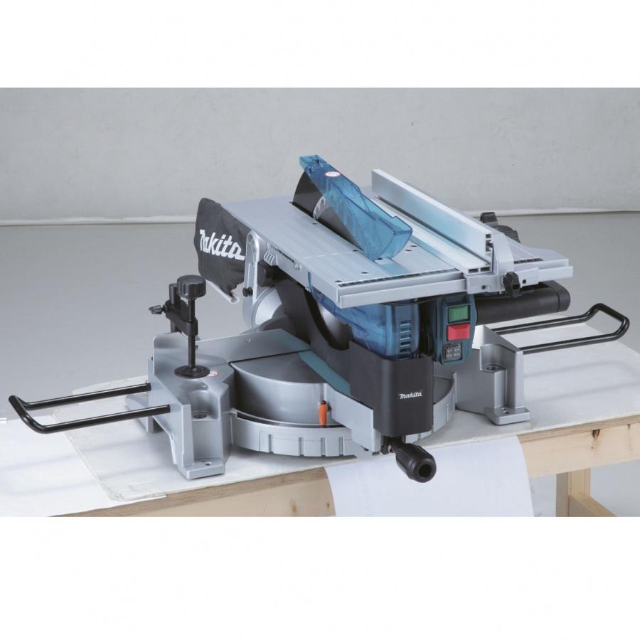 Sega da banco con pianetto e illuminazione 1650w Makita LH1200FL mm. 305