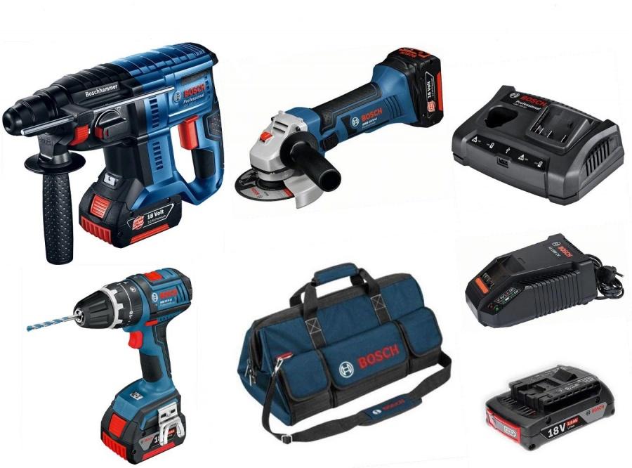 Bosch 0615990k13 Set elettroutensili 18 v