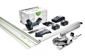 Sega a batteria per materiali isolanti festool isc 240 li 5,2 ebi-set-fs 575592 - dettaglio 1