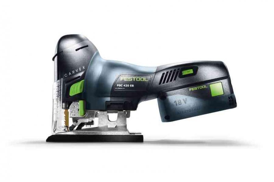 Seghetto alternativo senza batterie festool psc 420 li eb-basic 574713 - dettaglio 5