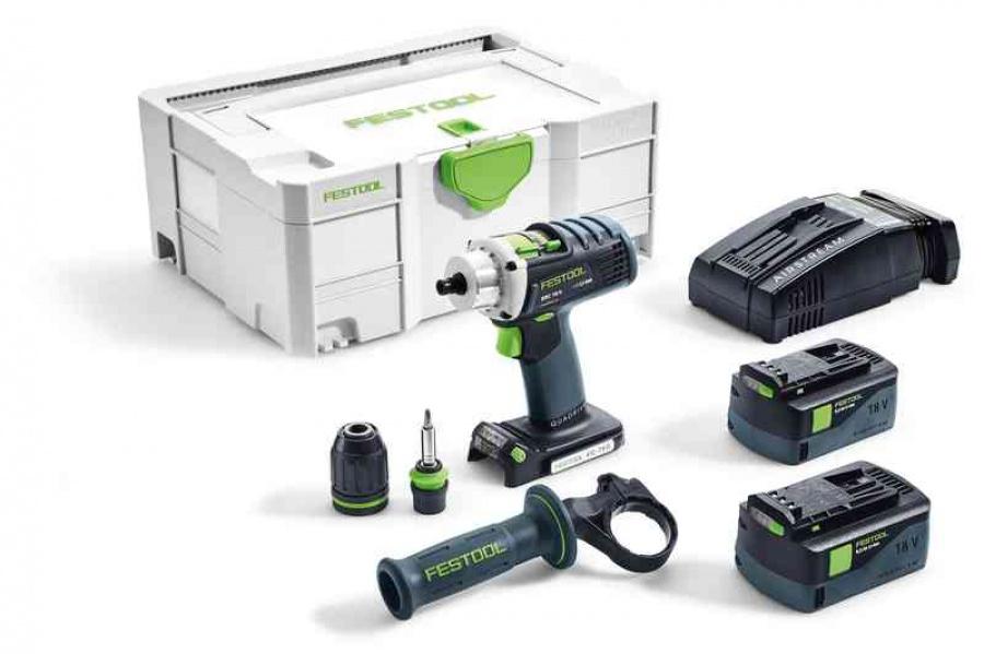 Festool drc 18/4 li 5,2-plus-sca trapano avvitatore a batteria 574916 - dettaglio 1