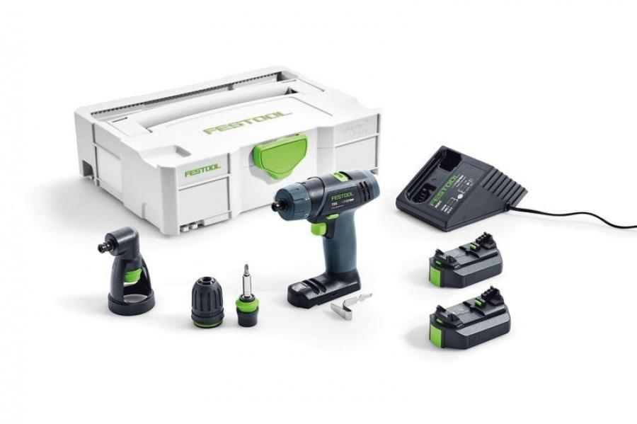Festool txs li 2,6-set trapano avvitatore a batteria 564510 - dettaglio 1