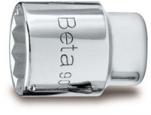 "Chiave a Bussola a mano 1/4"" bocca poligonale Beta 900MB mm. 12"
