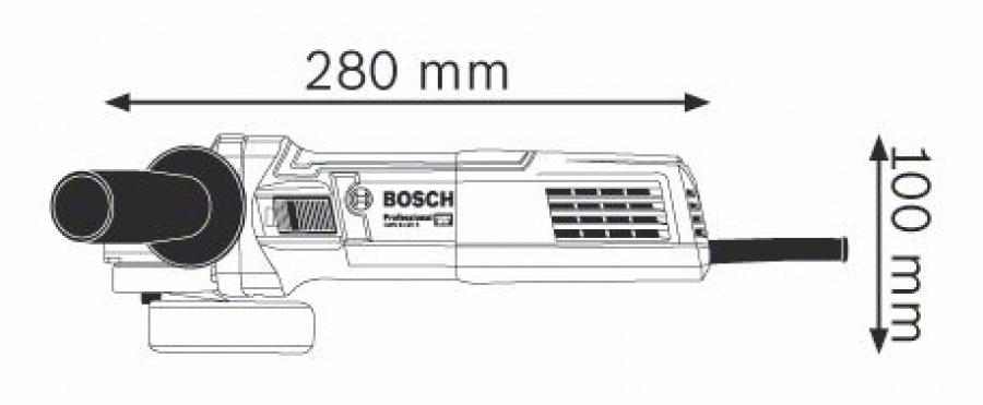 Bosch gws 9-125 s smerigliatrice angolare 0601396104 - dettaglio 2