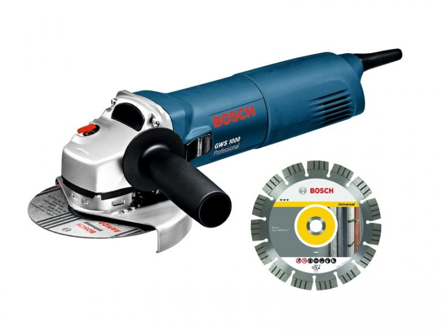 Bosch gws 1000 smerigliatrice angolare 0601828901 - dettaglio 1