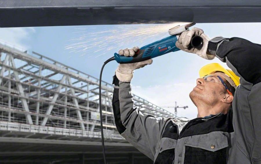 Bosch gws 18-125 l inox smerigliatrice angolare compatta 06017a4000 - dettaglio 3