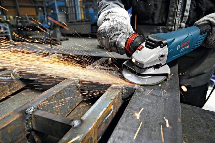 Bosch gws 18-125 l inox smerigliatrice angolare compatta 06017a4000 - dettaglio 4