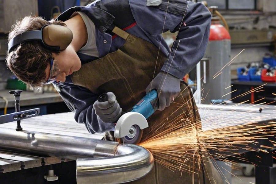 Bosch gws 17-125 inox smerigliatrice angolare 060179m008 - dettaglio 3