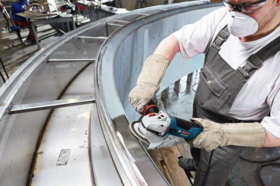 Bosch gws 17-125 inox smerigliatrice angolare 060179m008 - dettaglio 4