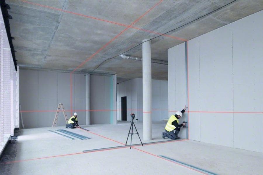 Livella laser bosch 0601063s00 gll 3-80 professional - dettaglio 2