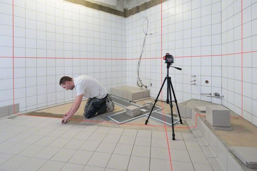Livella laser bosch 0601063s00 gll 3-80 professional - dettaglio 4