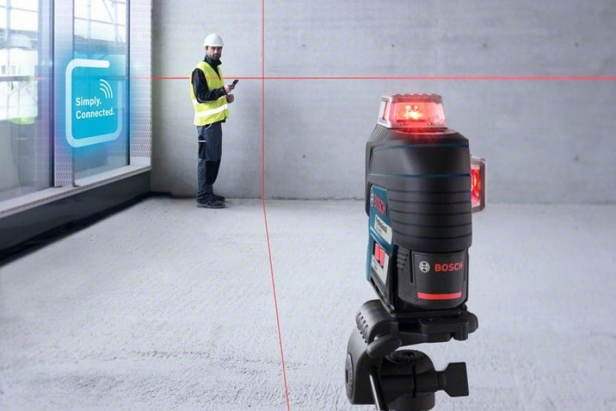 Livella laser bosch 0601063r05 gll 3-80 c + bm 1 + lr 7 - dettaglio 5