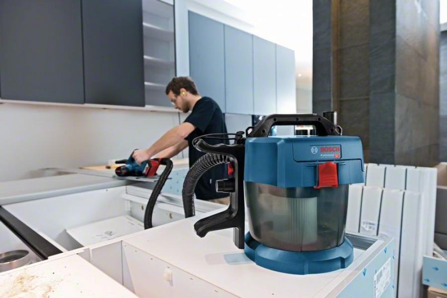 Bosch gas 18v-10 l aspiratore a batteria 06019c6301 - dettaglio 7