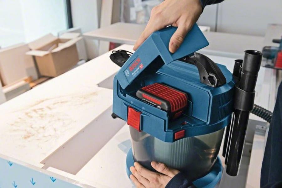 Bosch gas 18v-10 l aspiratore a batteria 06019c6301 - dettaglio 9