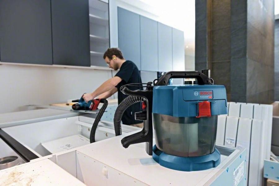Bosch gas 18v-10 l aspiratore a batteria senza batterie 06019c6300 - dettaglio 6