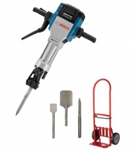 Bosch GSH 27 VC Set Martello demolitore