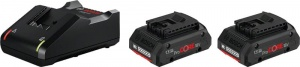 Bosch 1600A01BA3 Starter Set Advanced 18v - dettaglio 1