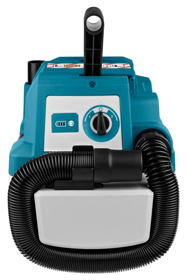 Makita DVC750LZX1 Aspiratore 18v senza batterie - dettaglio 2