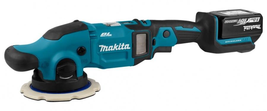 Makita DPO600RTE Lucidatrice a batteria 18v -dettaglio 1