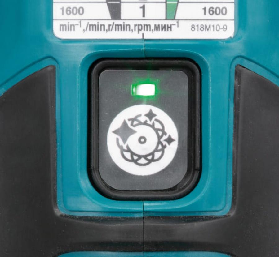 Makita DPO600RTE Lucidatrice a batteria 18v -dettaglio 6