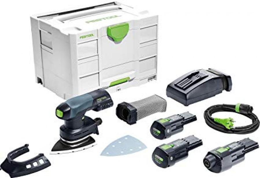Festool 575703 levigatrice delta a batteria dtsc 400 li 3,1 i-set - dettaglio 1