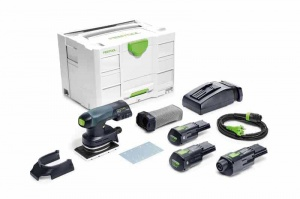 Festool 575724 levigatrici rutscher a batteria rtsc 400 li 3,1 i-set - dettaglio 1