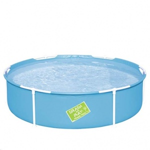 Bestway piscina first frame pool tonda 56283 - dettaglio 1